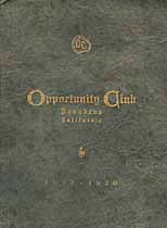 Thumbnail image of Pasdena Opportunity Club 1897-1920 cover