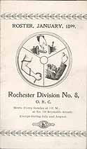 Thumbnail image of Division No. 8, O. R. C. Roster (1899) cover