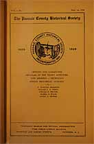 Thumbnail image of Passaic County Historical Society (1928-1929) Bulletin Vol. 1, No. 2 cover