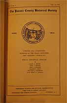 Thumbnail image of Passaic County Historical Society (1930-1931) Bulletin Vol. 1, No. 4 cover