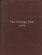 Thumbnail image of The Chicago Club 1923 cover