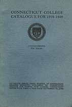 Thumbnail image of Connecticut College for Women 1929-1930 Catalogue cover