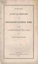 Thumbnail image of Boston Discharged Soldiers' Home 1865 Report cover