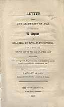 Thumbnail image of Revolutionary War Invalid Pensioners 1807 Report cover