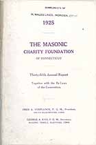Thumbnail image of Connecticut Masonic Charity Foundation 1925 Report cover