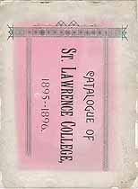 Thumbnail image of St. Lawrence College 1895-1896 Catalogue cover