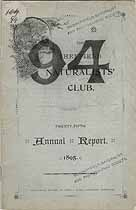 Thumbnail image of Sheffield Naturalists' Club 1895 Report cover