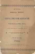 Thumbnail image of New York Odd Fellows' Home Association 1895 Report cover