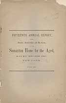 Thumbnail image of New York Samaritan Home for the Aged 1882 Report cover