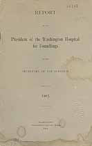 Thumbnail image of Washington Hospital for Foundlings 1903 Report cover