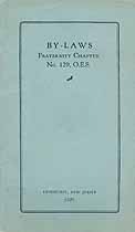 Thumbnail image of Fraternity Chapter O. E. S. 1929 By-Laws cover