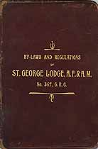 Thumbnail image of St. George Lodge, F. & A. M., 1897 By-Laws cover