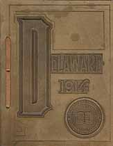 Thumbnail image of Delaware College 1914 Commencement cover