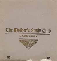 Thumbnail image of Lockport Mother's Study Club 1912-1913 Program cover