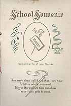 Thumbnail image of Strausstown Primary Public School 1916 Souvenir cover