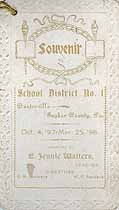 Thumbnail image of Centreville School 1897-98 Souvenir cover