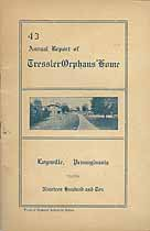 Thumbnail image of Tressler Orphans' Home 1910 Report cover