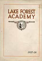 Thumbnail image of Lake Forest Academy 1927-28 Catalogue cover