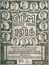 Thumbnail image of The GEM Dance Folio for 1916 cover