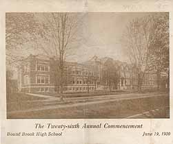 Thumbnail image of Bound Brook High School 1930 Commencement cover