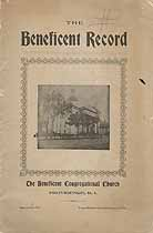 Thumbnail image of The Beneficient Record No. 19, February 1901 cover
