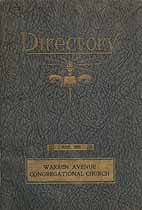Thumbnail image of Warren Avenue Congregational Church 1925 Directory cover