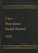 Thumbnail image of New Jersey Social Record 1931 cover