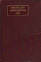 Thumbnail image of Omaha Bar Association 1914 cover