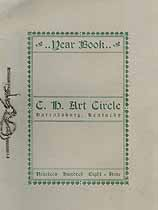 Thumbnail image of C. H. Art Circle 1908-09 Year Book cover