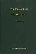 Thumbnail image of The Filson Club and Its Activities 1884-1922 cover