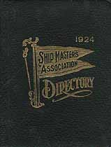 Thumbnail image of Ship Masters Association 1924 Directory cover