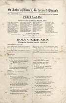Thumbnail image of St. John's Reformed Church 1918 (May) Confirmations cover