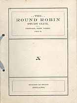 Thumbnail image of Oxford Round Robin Club 1901-2 Calendar cover