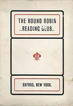 Thumbnail image of Oxford Round Robin Club 1902-3 Calendar cover