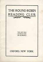 Thumbnail image of Oxford Round Robin Club 1903-4 Calendar cover