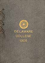 Thumbnail image of Delaware College 1906 Commencement cover