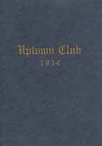 Thumbnail image of New York City Uptown Club 1934 Year Book cover
