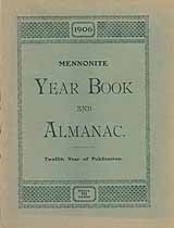 Thumbnail image of Mennonite 1906 Year Book and Almanac cover