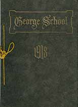Thumbnail image of George School 1918 Catalogue cover
