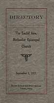 Thumbnail image of The Euclid Ave. Methodist Episcopal Church 1917 Directory cover