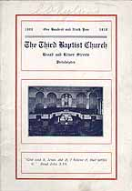 Thumbnail image of Philadelphia Third Baptist Church 1918 Hand Book cover