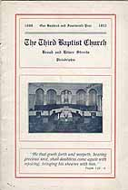 Thumbnail image of Philadelphia Third Baptist Church 1923 Hand Book cover