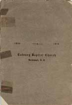 Thumbnail image of Hackensack Calvary Baptist Church 1916 Manual cover