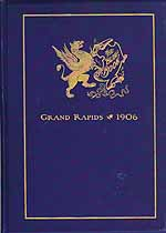 Thumbnail image of Grand Rapids 1906 Society Blue Book cover