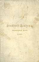 Thumbnail image of Bradford Academy 1867 Catalogue cover