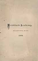 Thumbnail image of Bradford Academy 1868 Catalogue cover