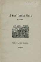 Thumbnail image of All Souls' Unitarian Church 1889-90 Parish Book cover