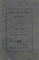 Thumbnail image of Lima Hospital Society 1908 Statement cover