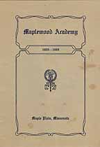 Thumbnail image of Maplewood Academy 1908-1909 Catalogue cover