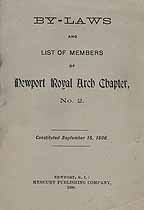 Thumbnail image of Newport Chapter R. A. M. 1900 Members cover